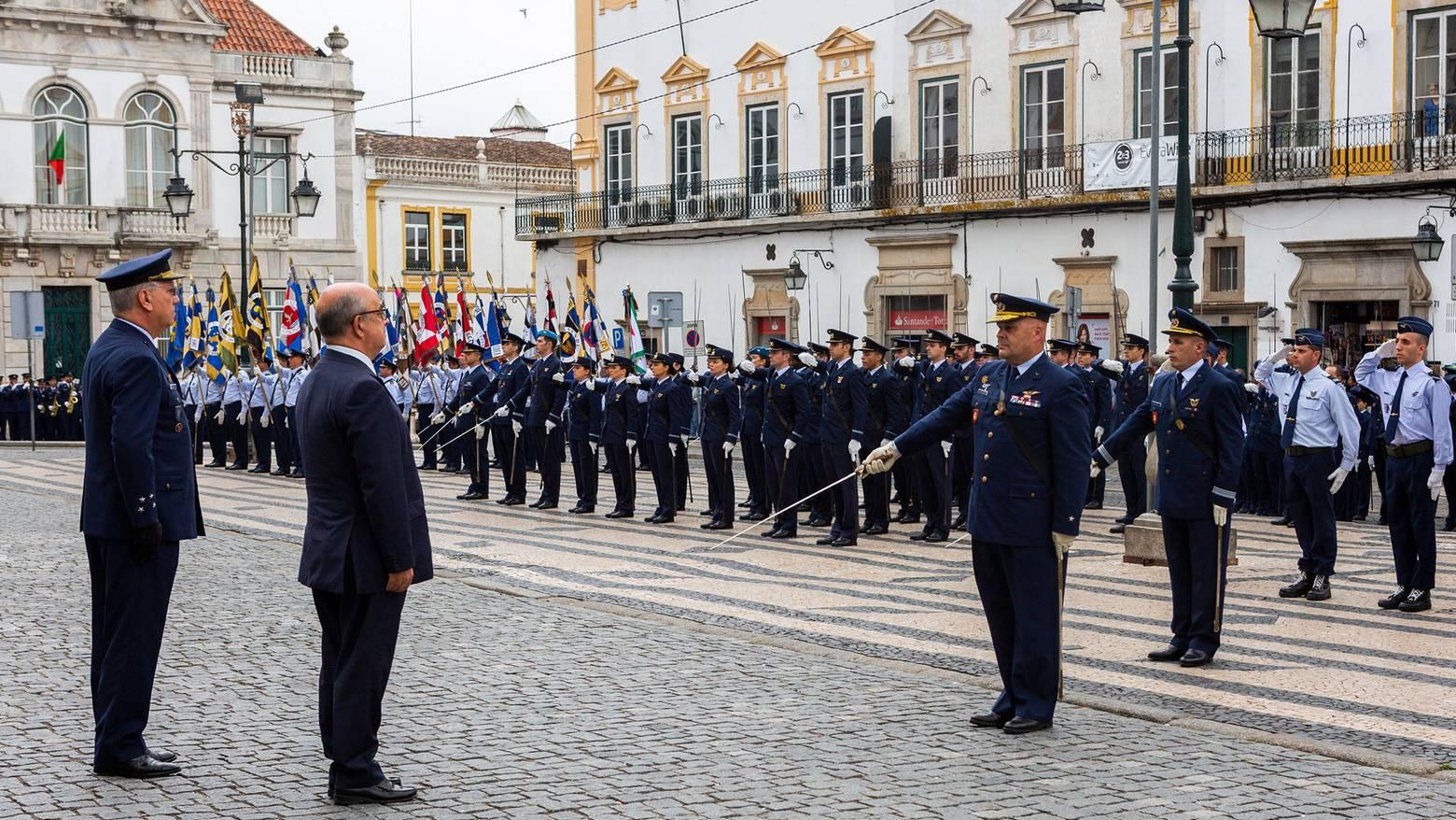 Ministro da Defesa presidiu Cerimónia do 66.º Aniversário da Força Aérea