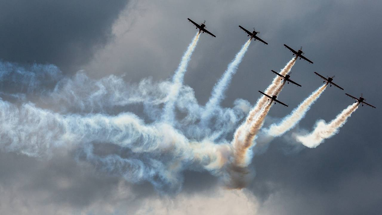 Festival Aéreo dá cor e movimento aos céus de Évora