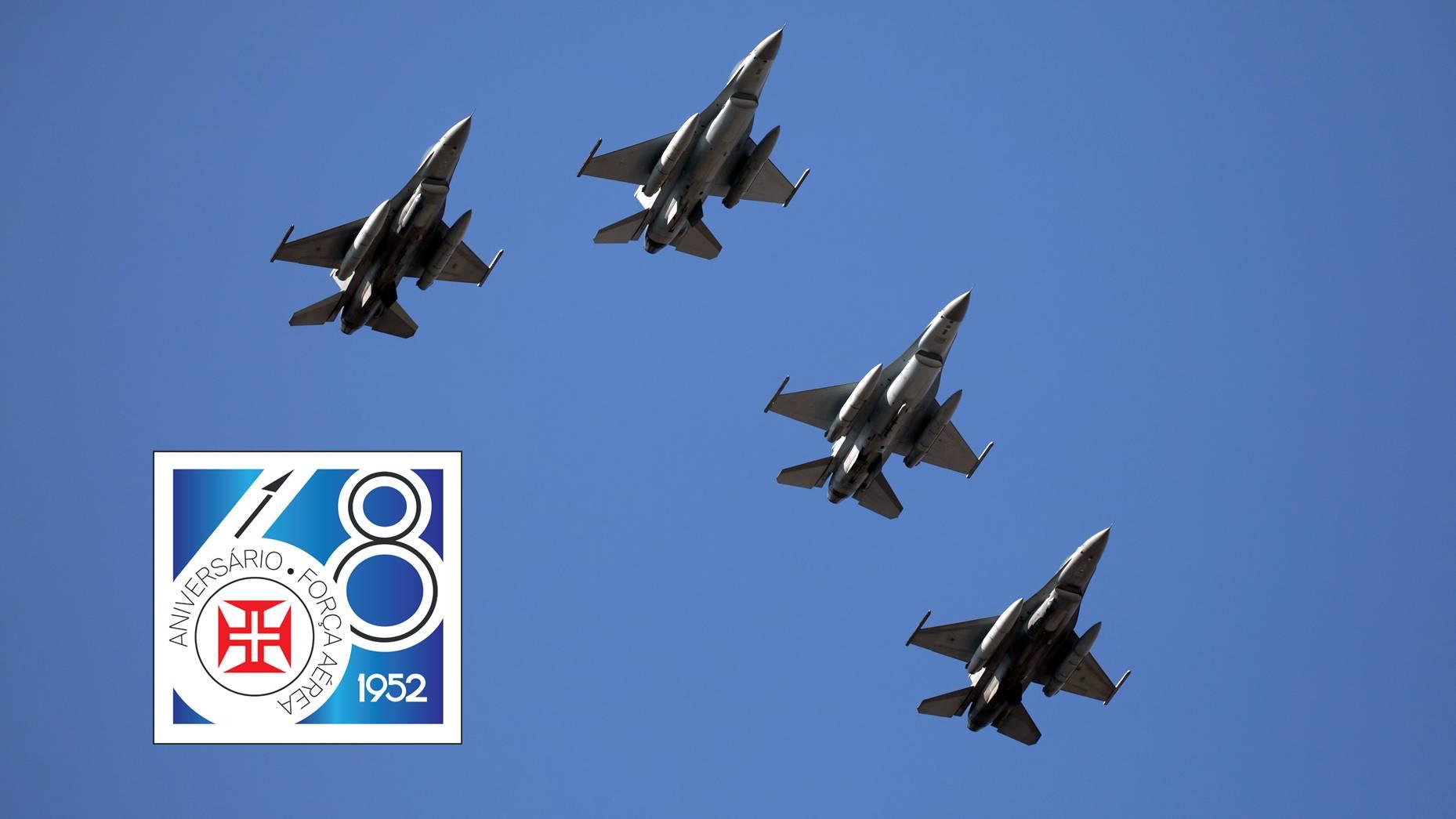 Força Aérea assinala 68 anos com passagens aéreas e Homenageia vítimas da Pandemia