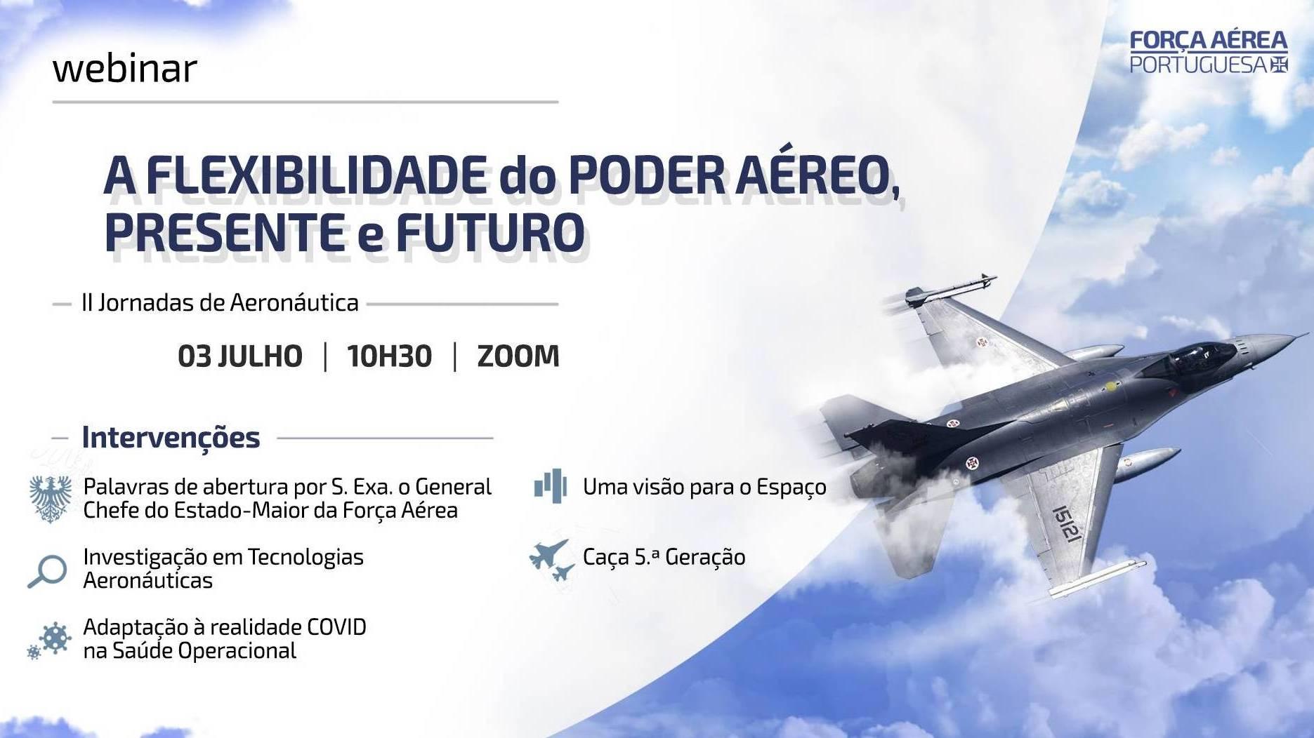 Assista ao Webinar das II Jornadas de Aeronáutica