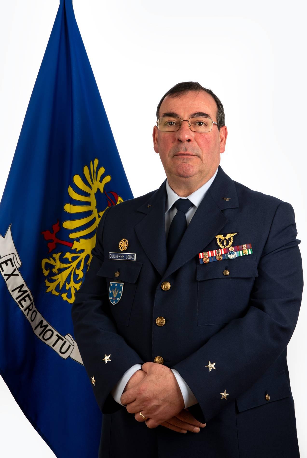 Foto de Major-General Guilherme dos Santos Lobão