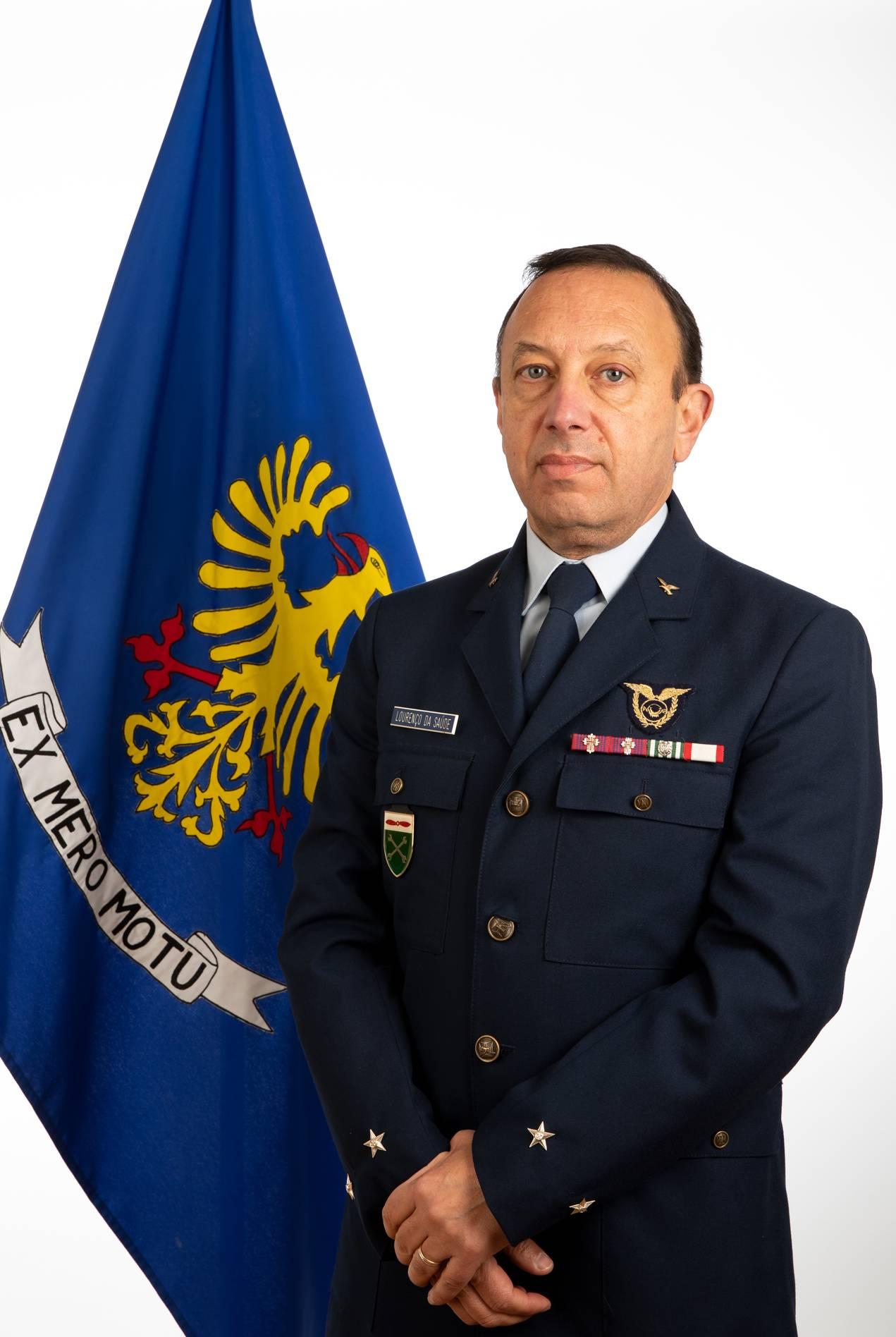 Foto de Major-General José Manuel Mota Lourenço da Saúde