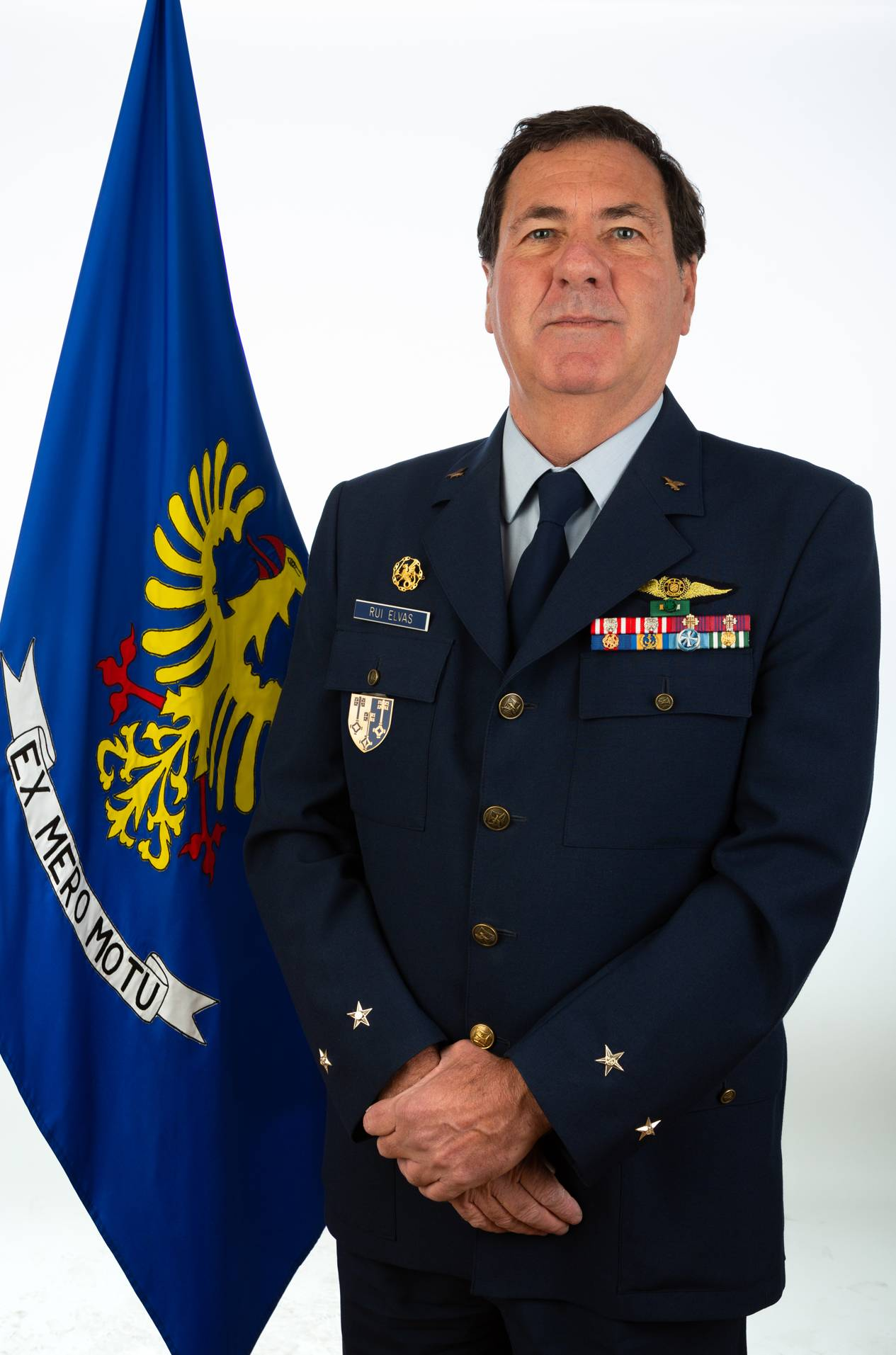 Foto de Major-General Rui Manuel Pires de Brito Elvas