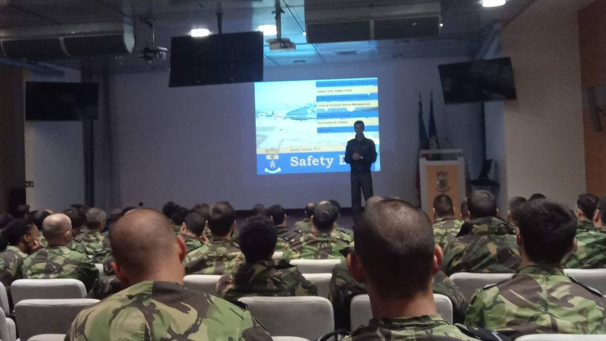 Base Aérea N.º 1 organiza Safety Day 02/2018