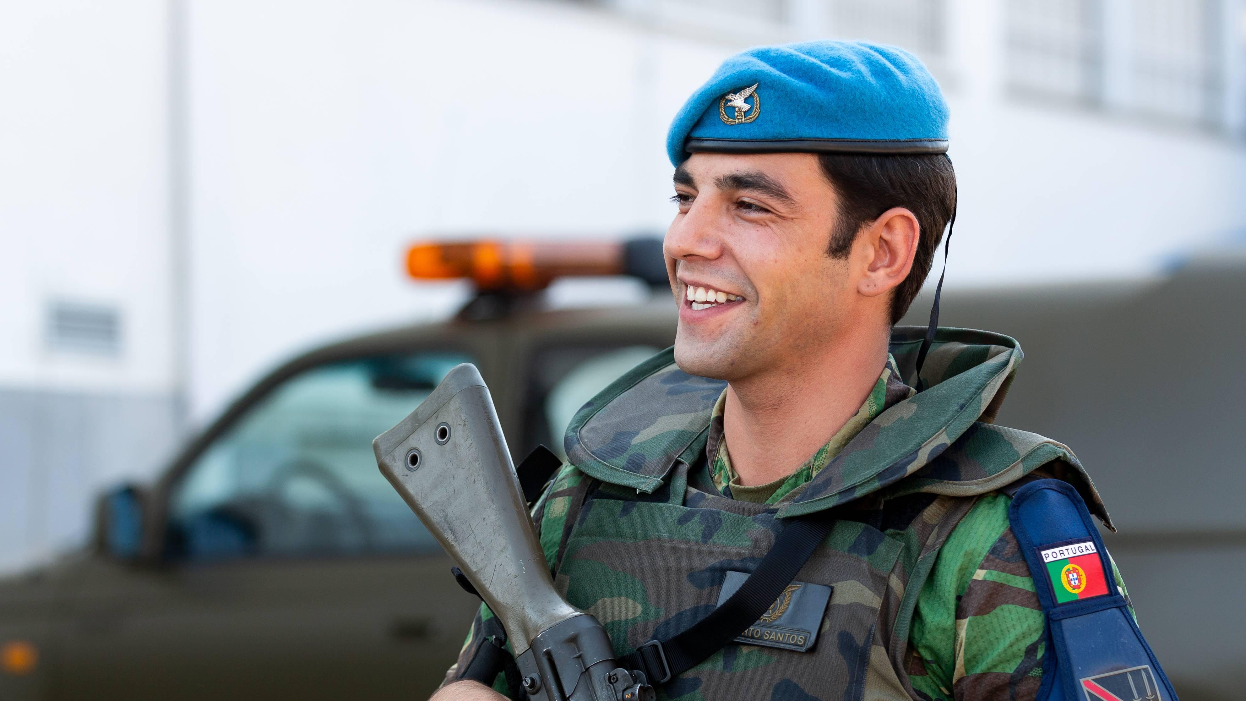 Gabinete de Segurança Militar da Polícia Aérea da UAL - 1CAB Alberto José Costa Santos
