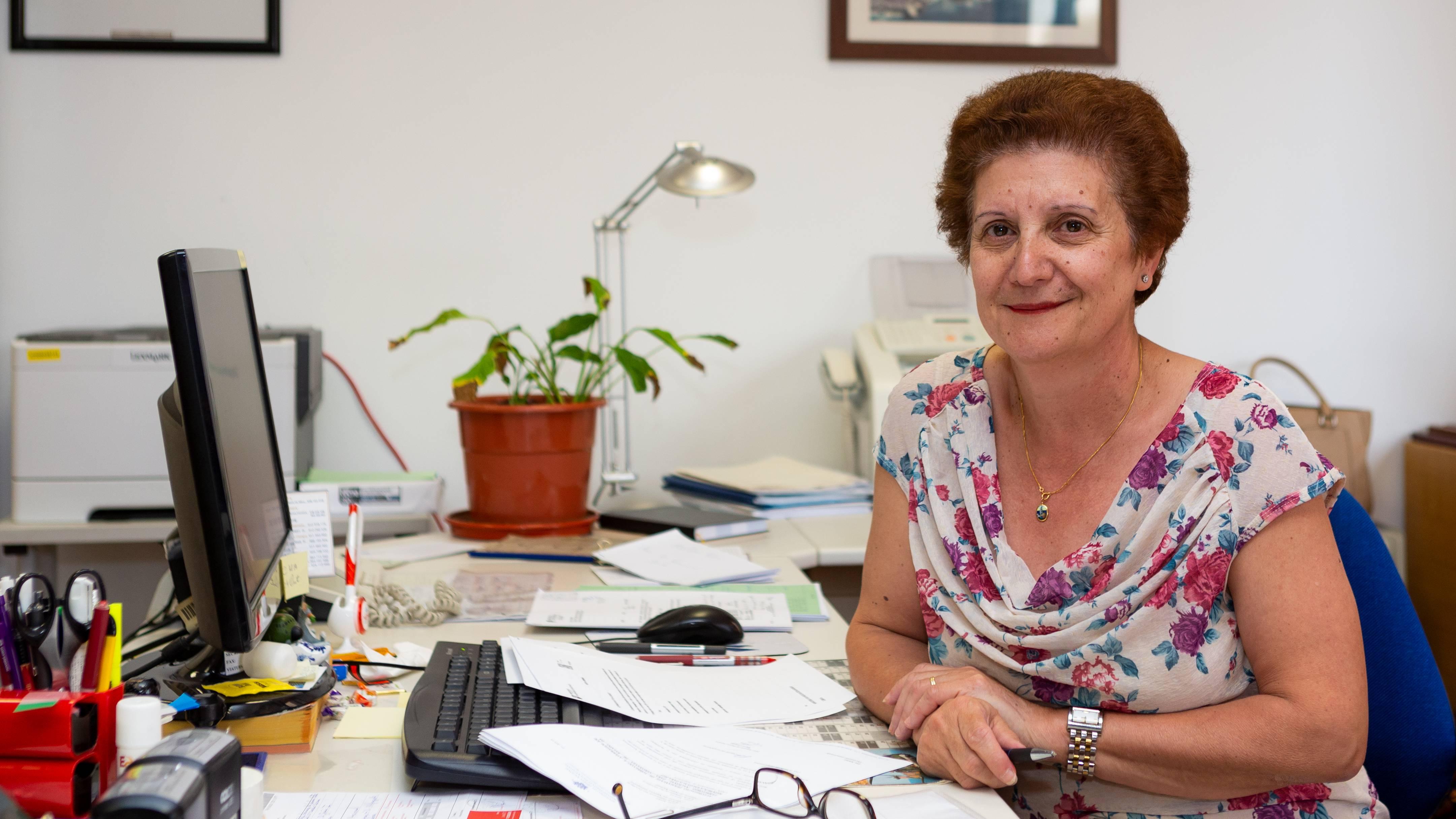 Secretária do Subchefe do EMFA, GAAN e OCEA - Rosa Augusta Ganhão Penado Leal
