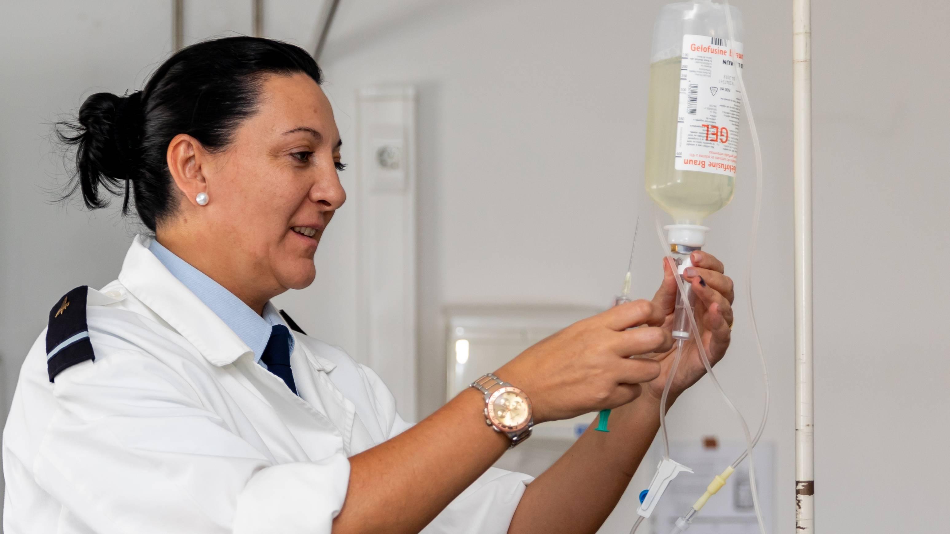 Chefe do Centro de Saúde da Unidade de Apoio de Lisboa - ALF Zélia Carvalho